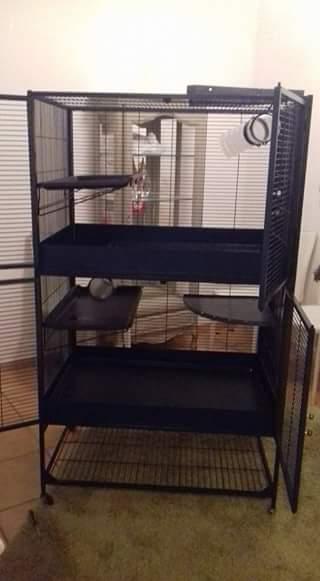 3 cages et accessoires (76) 20708210