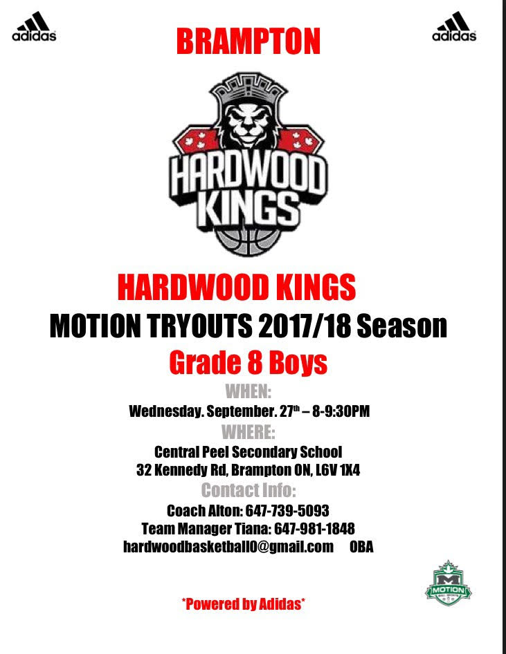 Brampton Hardwood Kings Tryouts Grade 8 boys Grade_12