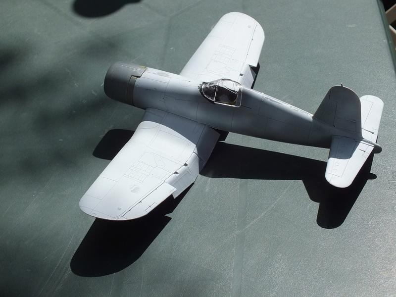 Corsair F4AU-1A 1/48 Tamiya réf.61070 décoration spécifique à mon pseudo............ Dscf1511