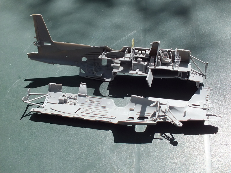 TBM-3 Avenger from USS Bunker Hill 1/48 Academy Dscf1516