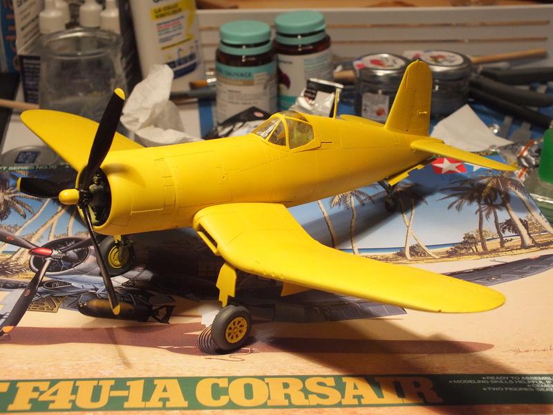 Corsair F4AU-1A 1/48 Tamiya réf.61070 décoration spécifique à mon pseudo............ - Page 2 Dscf1658