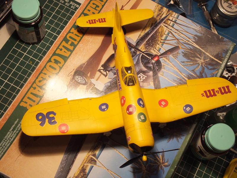 Corsair F4AU-1A 1/48 Tamiya réf.61070 décoration spécifique à mon pseudo............ - Page 2 Dscf1659