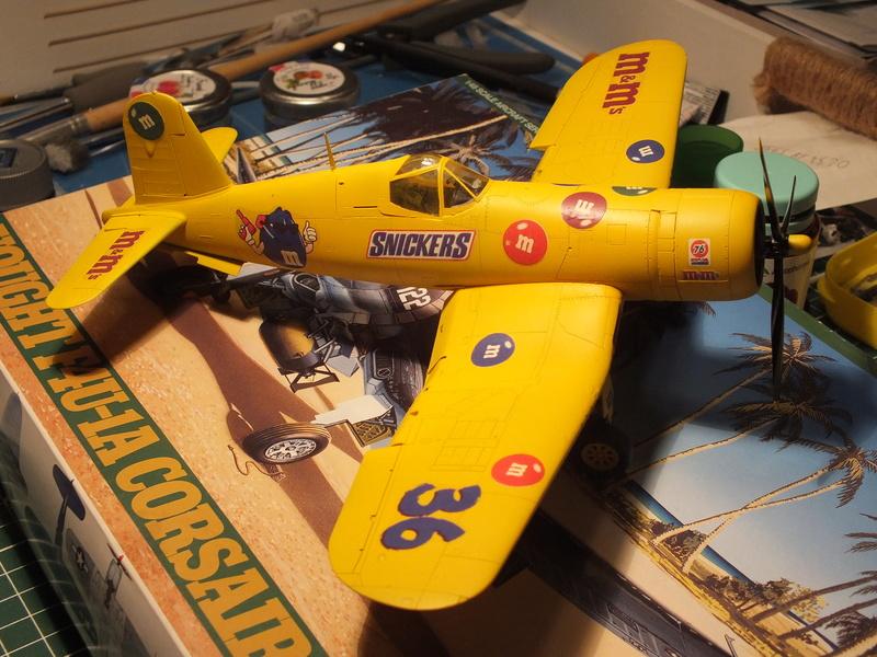 Corsair F4AU-1A 1/48 Tamiya réf.61070 décoration spécifique à mon pseudo............ - Page 2 Dscf1660