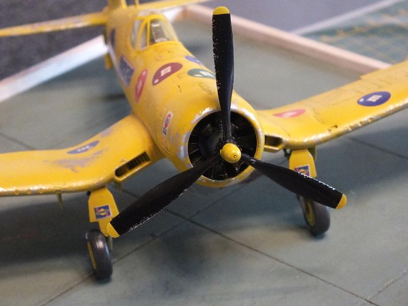 Corsair F4AU-1A 1/48 Tamiya réf.61070 décoration spécifique à mon pseudo............ - Page 2 Dscf1713