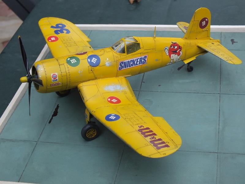 Corsair F4AU-1A 1/48 Tamiya réf.61070 décoration spécifique à mon pseudo............ - Page 2 Dscf1714