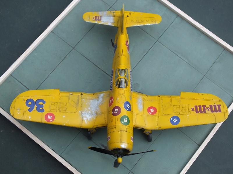 Corsair F4AU-1A 1/48 Tamiya réf.61070 décoration spécifique à mon pseudo............ - Page 2 Dscf1718