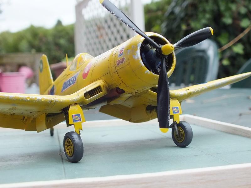 Corsair F4AU-1A 1/48 Tamiya réf.61070 décoration spécifique à mon pseudo............ - Page 2 Dscf1720