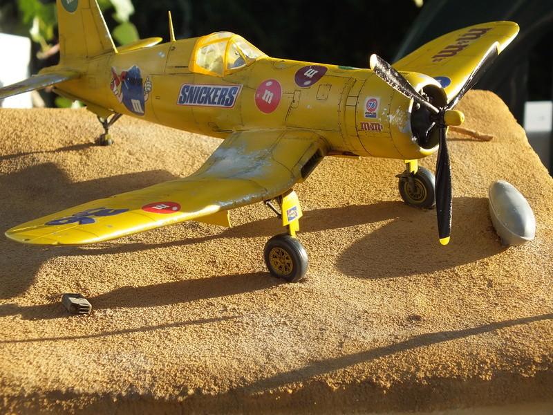 Corsair F4AU-1A 1/48 Tamiya réf.61070 décoration spécifique à mon pseudo............ - Page 2 Dscf1741