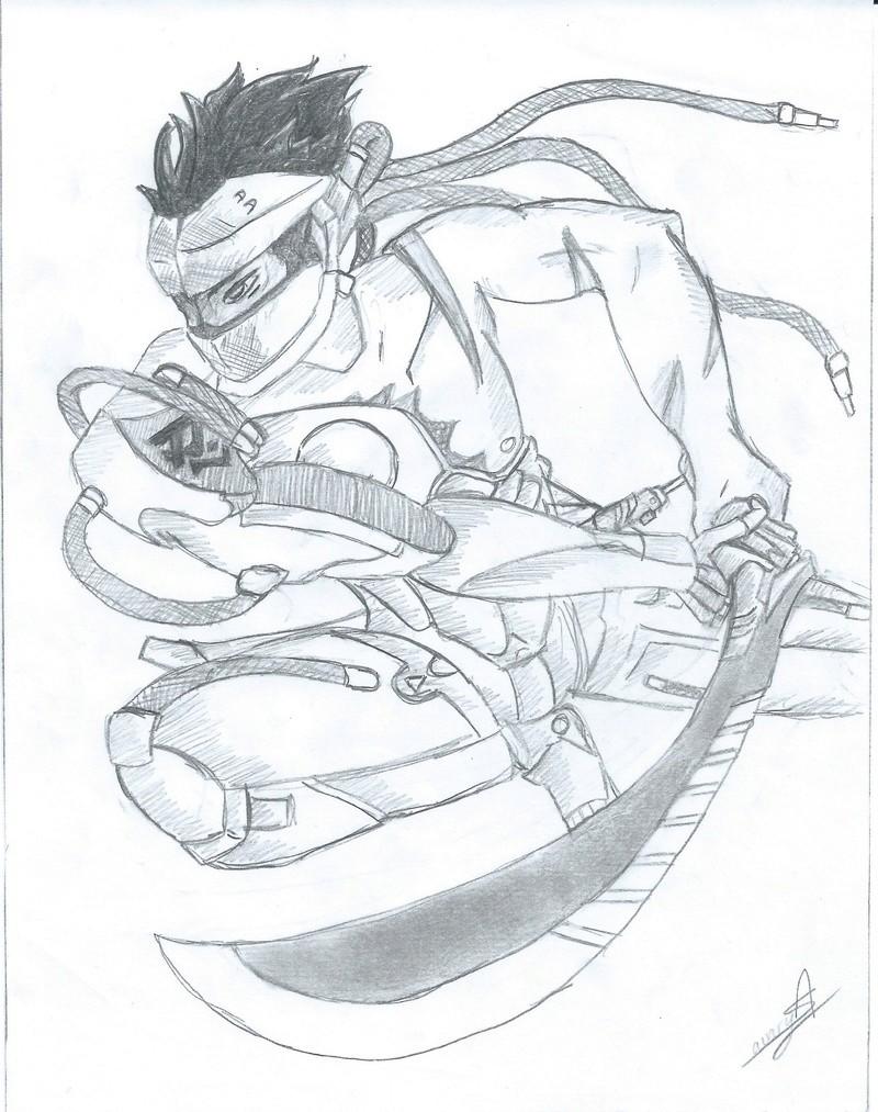 Le dessin...... Genji10