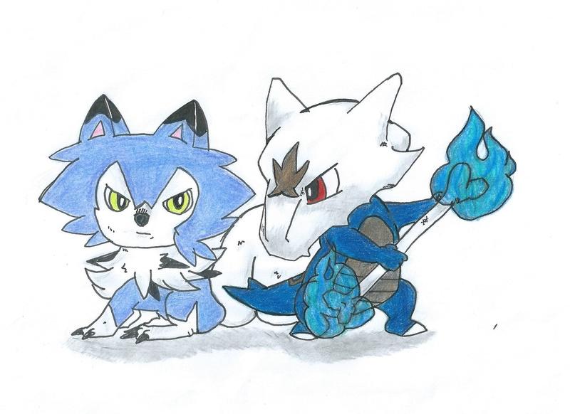 Le dessin...... Pokemo10