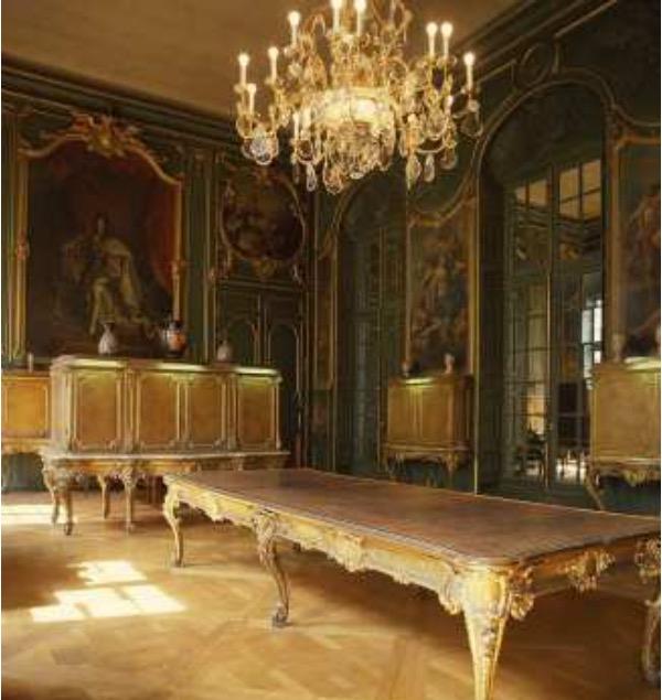 Restaurer le Cabinet du roi, coeur historique de la Bibliothèque Richelieu Cabine10