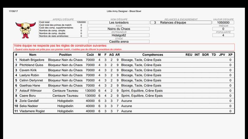 ligue de blood bowl - Page 2 Screen11