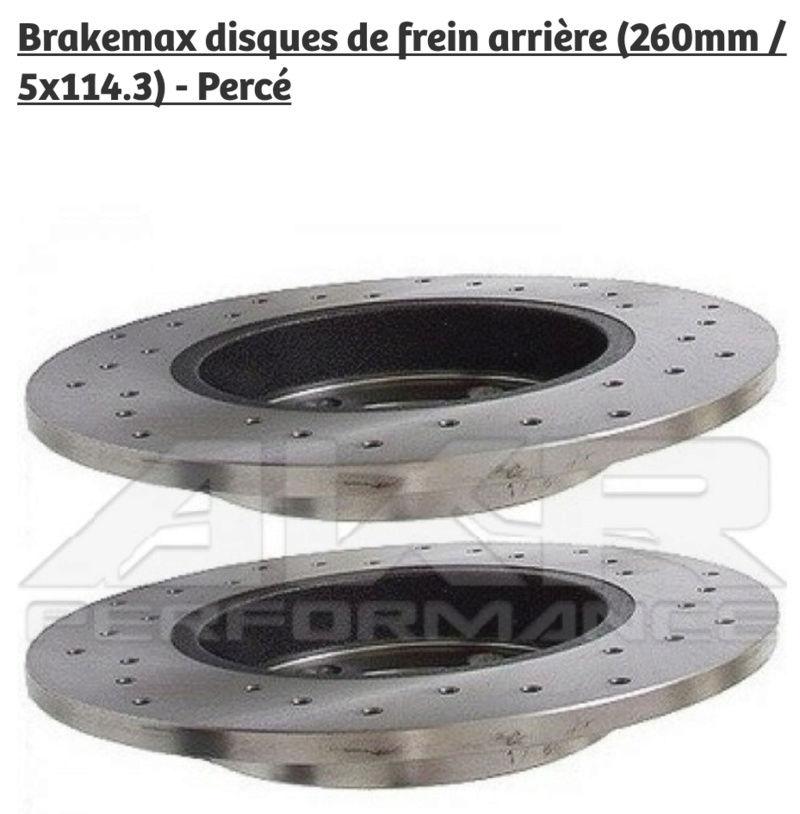 Disque de frein en céramique 20170911