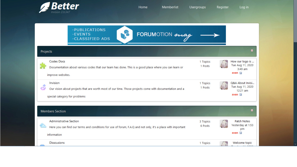 URL Redirect towards other forum Bettte10