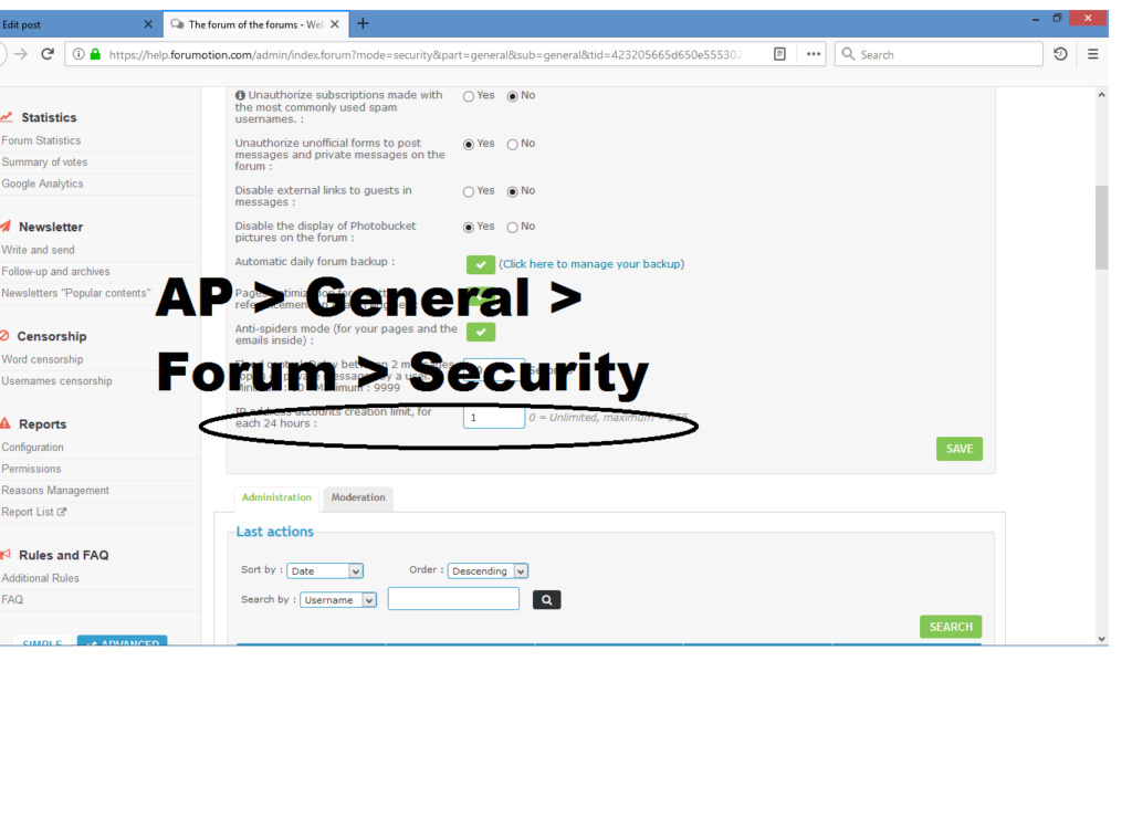Trouble signing up with my forum Securi11