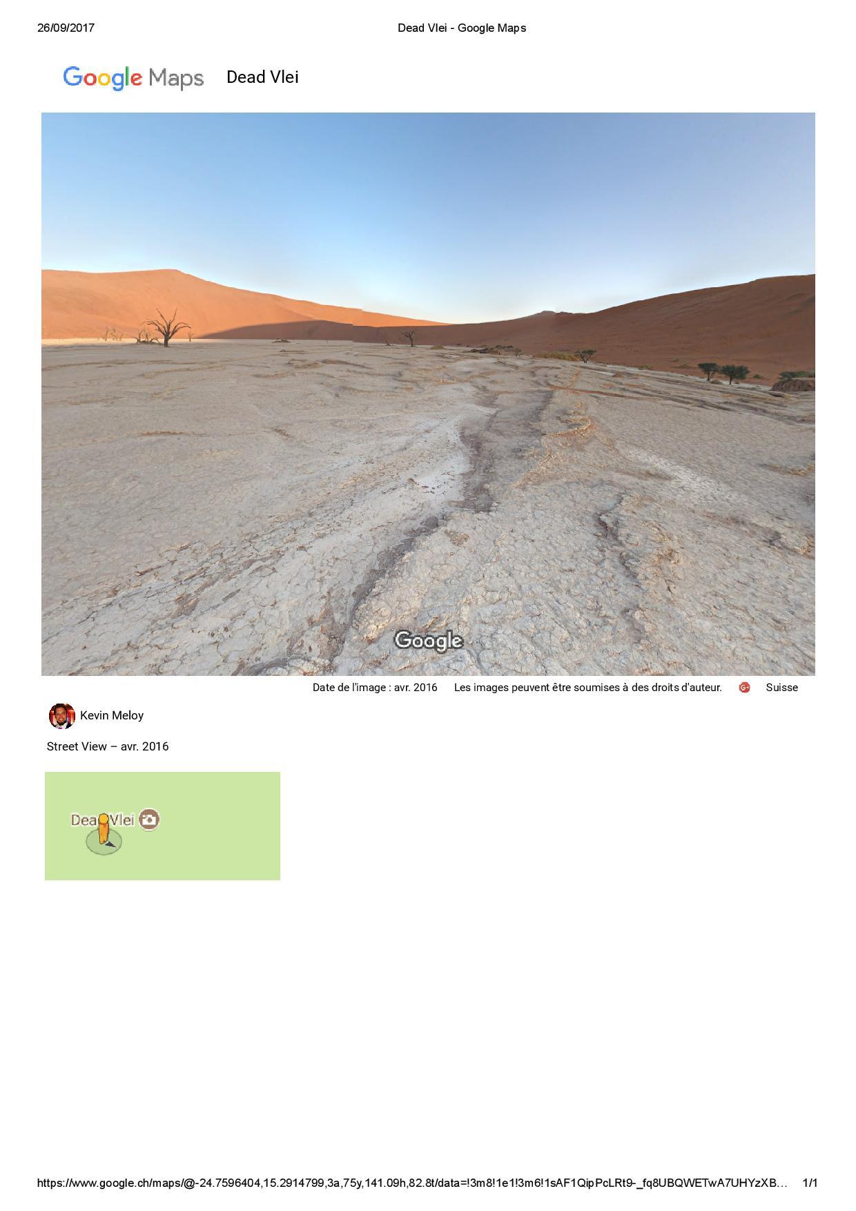 Exraire une image STREET ViEW  Google Maps ( sans surcharge d'info) avec Chrome Dead_v13