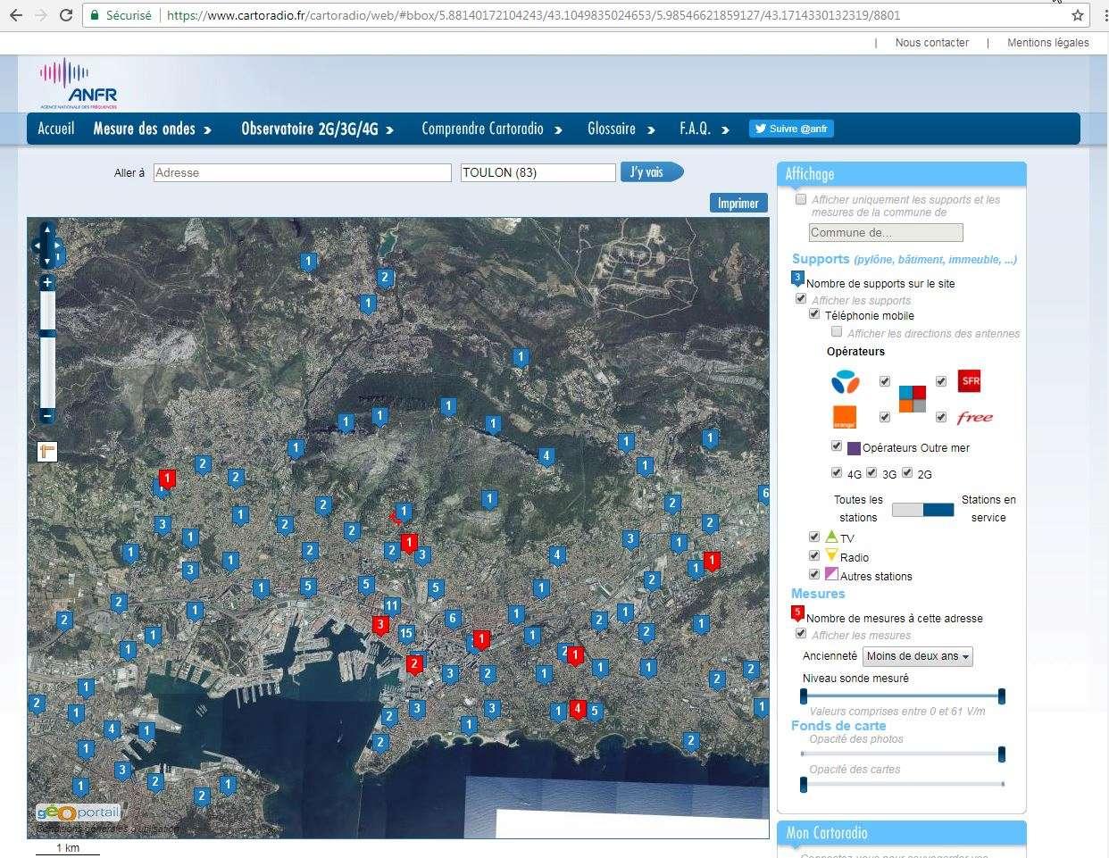 COMMENT TROUVER FACILEMENT VOS CARTES TOPOGRAPHIQUES  - Page 6 Toulon10