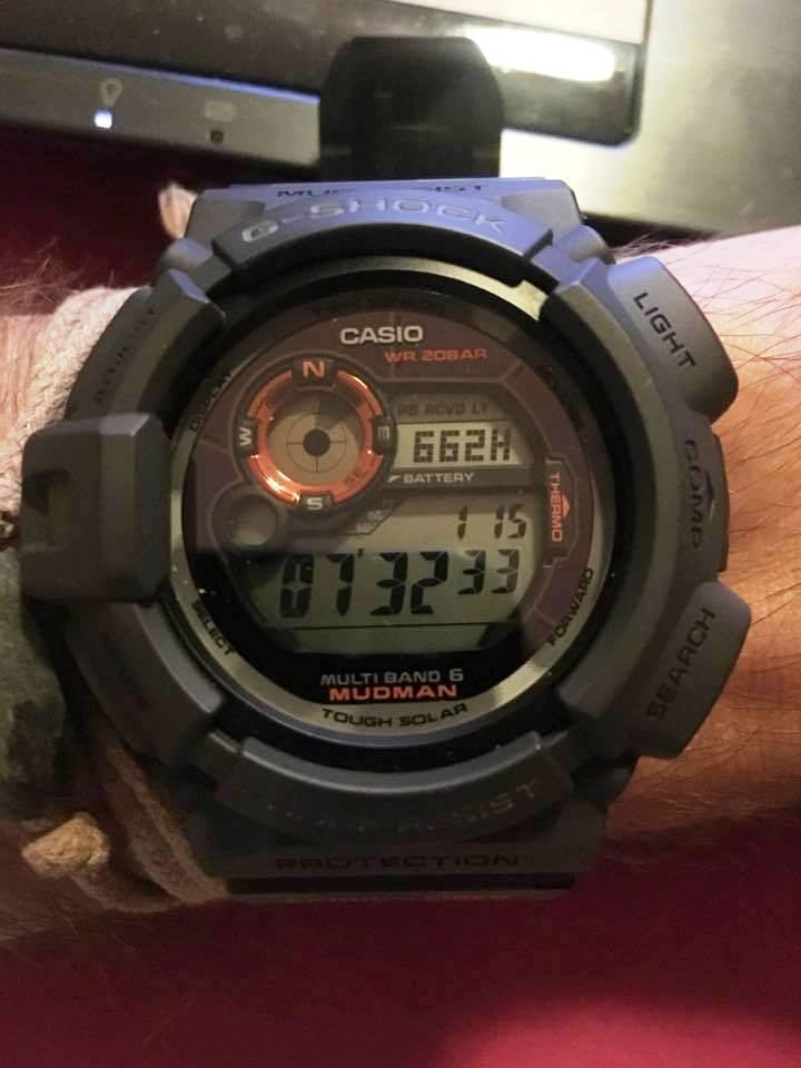 Casio GW-9300CM Mudman : mes impressions après 1 mois Chrono10