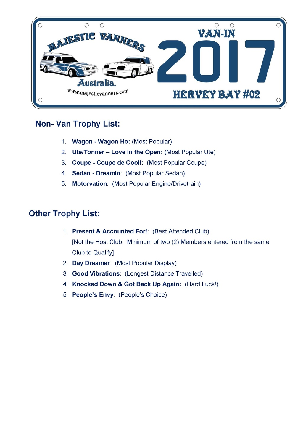 2017 Van-In #06 Albury/Wodonga; #02 Hervey Bay: 29th September to 2nd October. - Page 2 2017_v15
