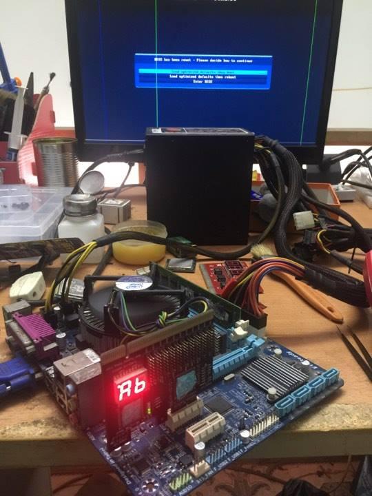 [Gigabyte] H61M-DS2 rev 4.0 Mất nguồn 5VDUAL + kích ngắt 21013210
