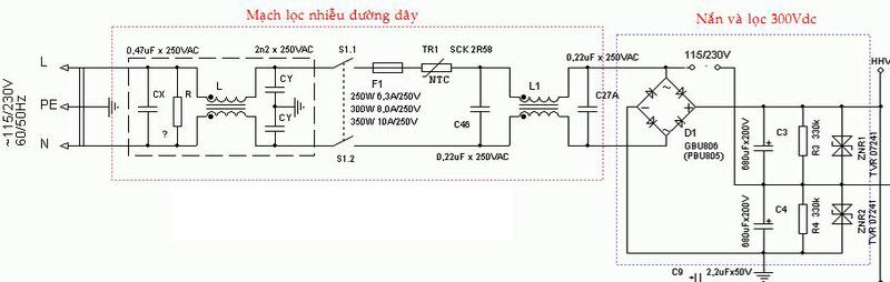 [Hướng dẫn khác] Schematic, chuyên đề sửa chữa nguồn ATX Smps_a10