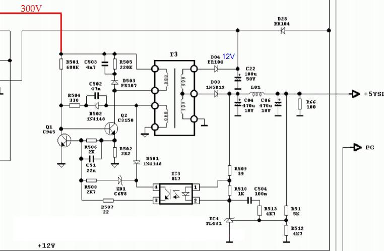 [Hướng dẫn khác] Schematic, chuyên đề sửa chữa nguồn ATX Stb_at10