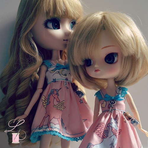 LullaCréation - robes pour Monster high, Pullip, Hujoo - Page 3 Post2017