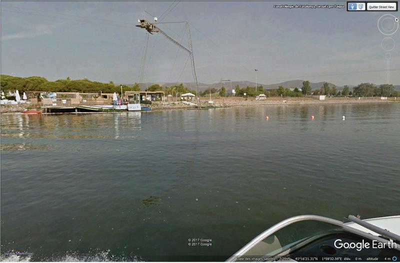 Boat view, street view se jette à l'eau Castel11
