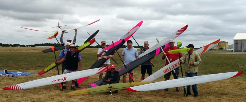 Les photos du concours F5J la Roche sur yon 25 juin Partic12