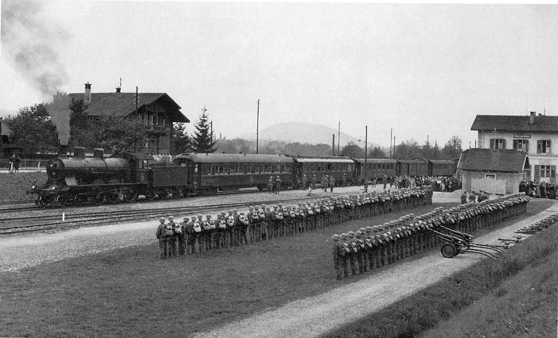 Suisse : les trains de commandement du Général Henri GUISAN Scan0911