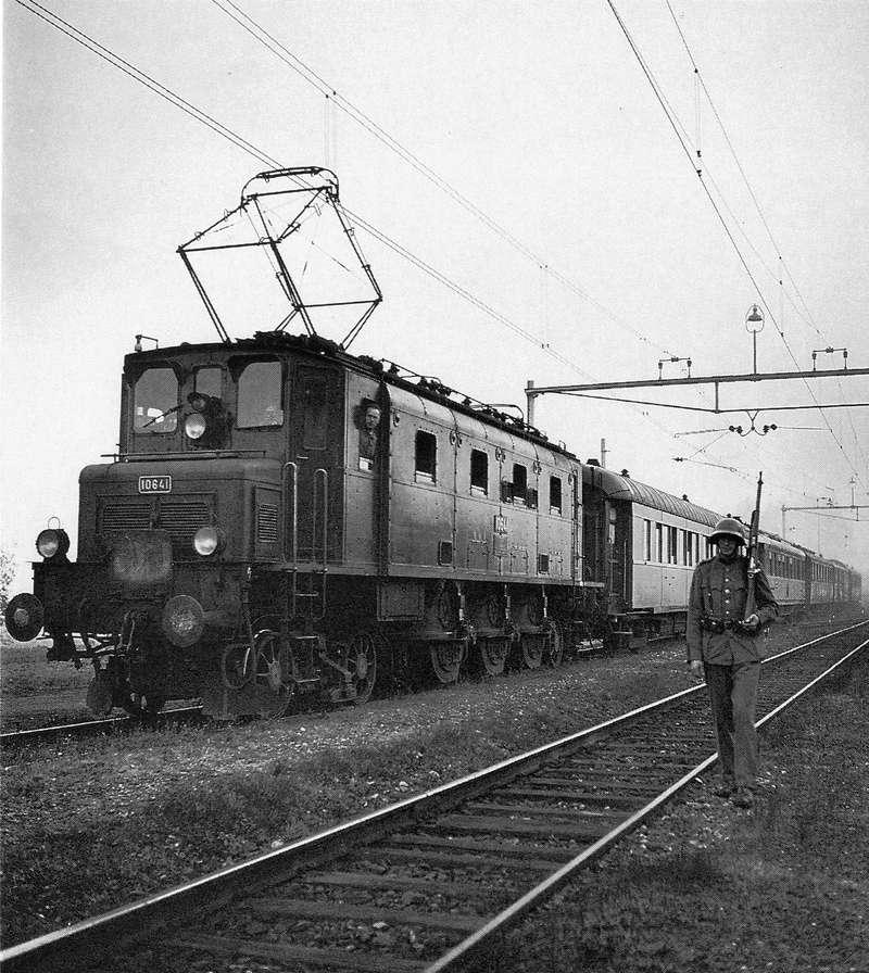 Suisse : les trains de commandement du Général Henri GUISAN Train_12