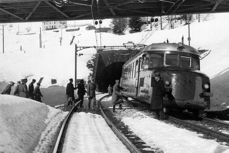 Suisse : les trains de commandement du Général Henri GUISAN Train_13