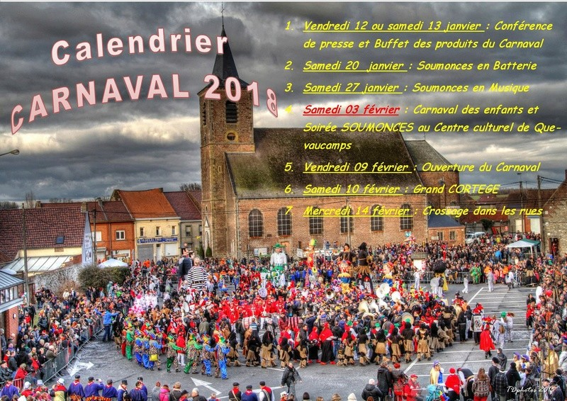 CARNAVAL - carnaval 2018 des dates : Carnaval de Basècles 21551710