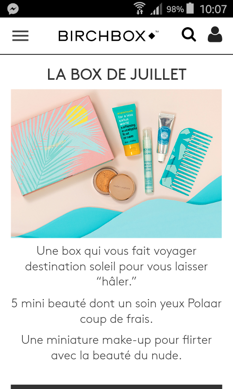 [Juillet 2017] Birchbox   - Page 3 Screen11