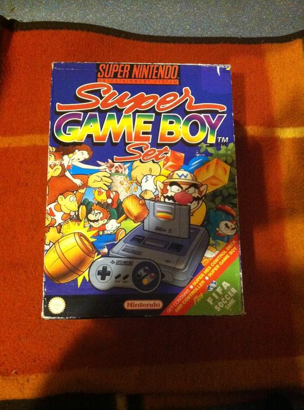 Collection de Pack Super Nitendo en boite  2111