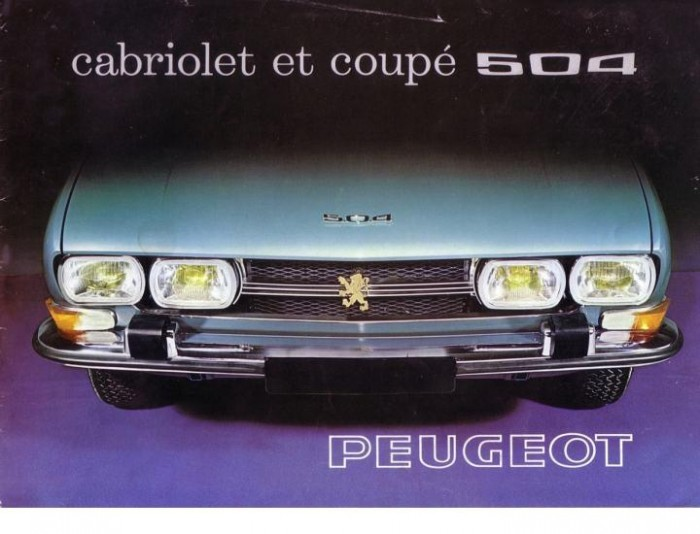 Mine d'infos Peugoet 504 CC Cover_10