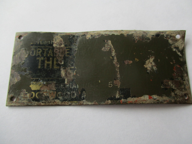 Rare plaquette de Lance Flamme US M1a1 Img_0424