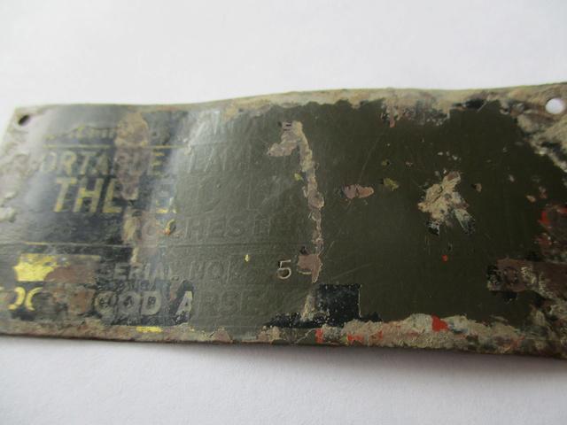 Rare plaquette de Lance Flamme US M1a1 Img_0425