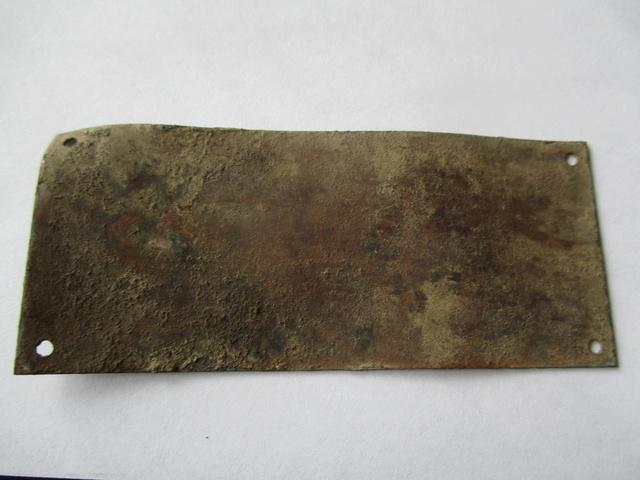 Rare plaquette de Lance Flamme US M1a1 Img_0427
