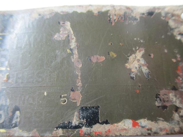 Rare plaquette de Lance Flamme US M1a1 Img_0428
