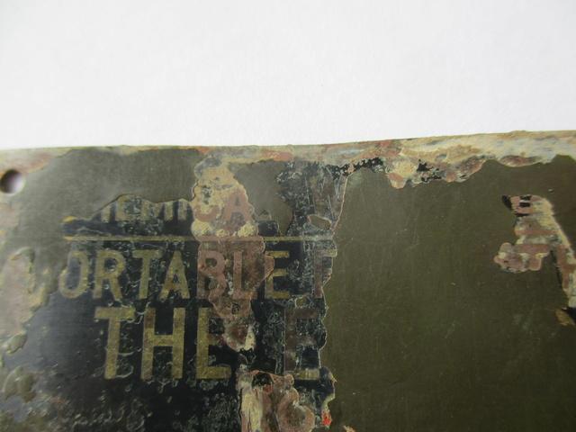 Rare plaquette de Lance Flamme US M1a1 Img_0429