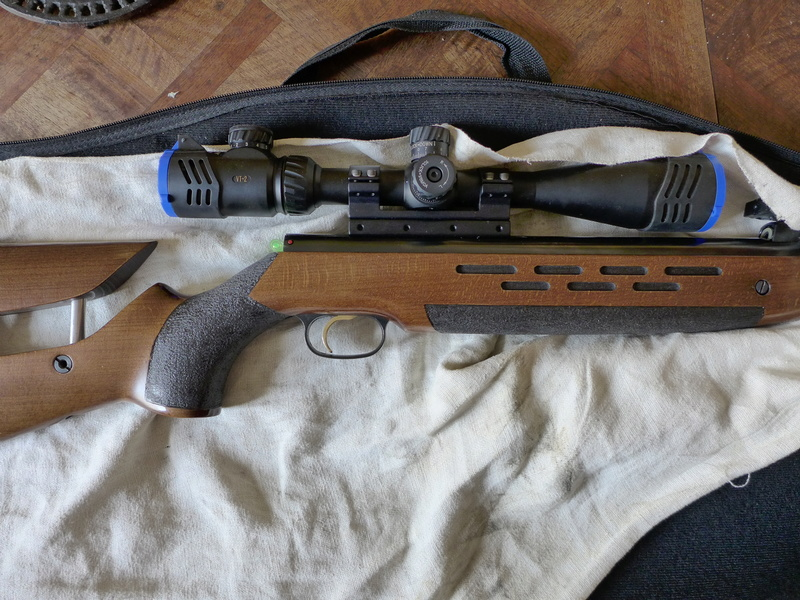 HW95 Match: Une HW98 à canon allégé et visée ouverte - Page 4 P1040523