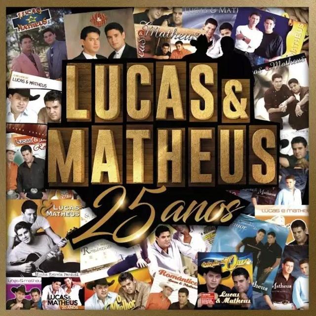 CD (FLAC) LUCAS E MATHEUS - 25 ANOS (2017). Cd_luc11