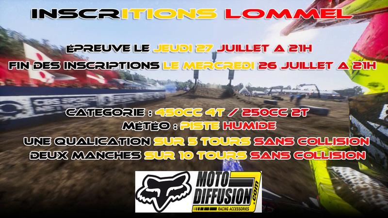 INSCRIPTION A LA 4EME EPREUVE DU CHAMPIONNAT MOTO DIFFUSION : LOMMEL LE 27 JUILLET 2017 Lommel15
