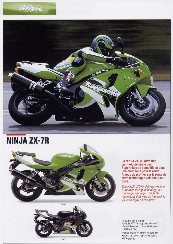 Fascicule kawasaki gamme 2000 Zx7r_210