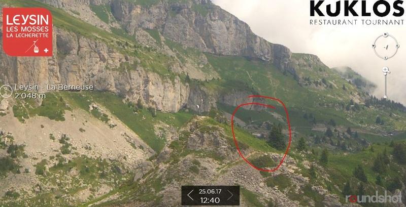 Construction du télésiège débrayable 4 places Le Fer-Brion-Tête d'Ai à Leysin VD Suisse (TSD4) Captur10