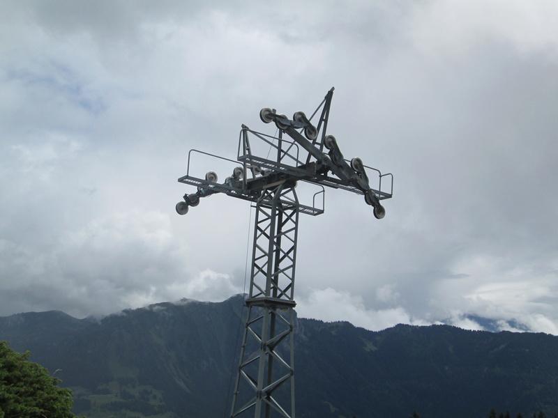 Construction du télésiège débrayable 4 places Le Fer-Brion-Tête d'Ai à Leysin VD Suisse (TSD4) Img_2012