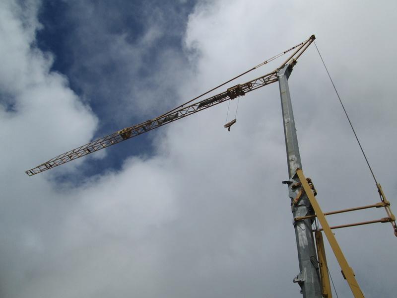 Construction du télésiège débrayable 4 places Le Fer-Brion-Tête d'Ai à Leysin VD Suisse (TSD4) Img_2013
