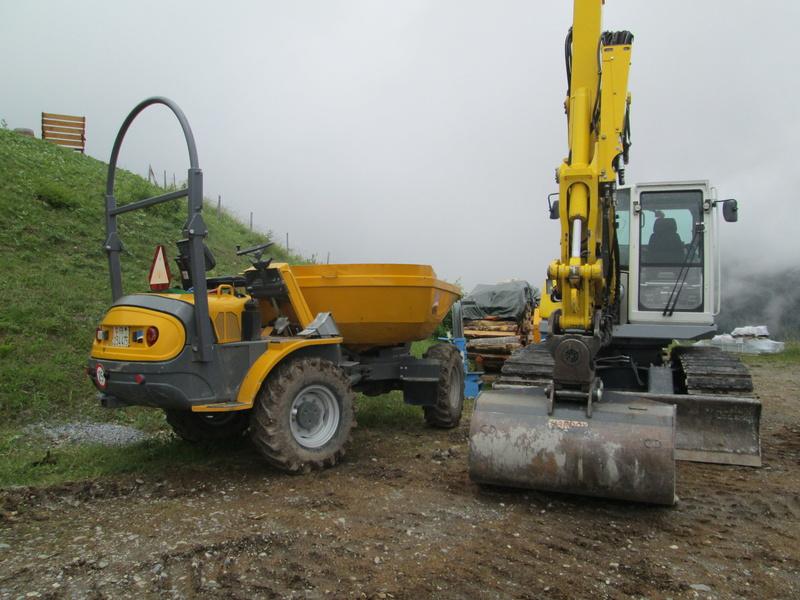 Construction du télésiège débrayable 4 places Le Fer-Brion-Tête d'Ai à Leysin VD Suisse (TSD4) Img_2017