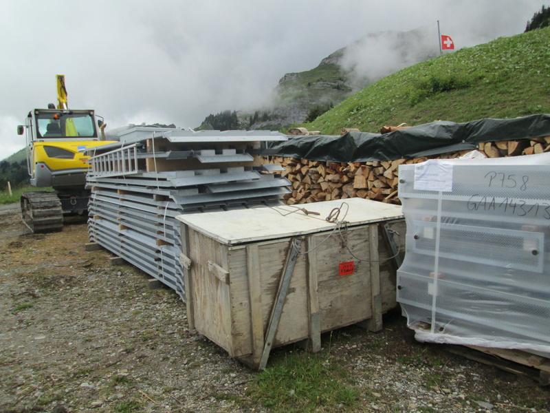 Construction du télésiège débrayable 4 places Le Fer-Brion-Tête d'Ai à Leysin VD Suisse (TSD4) Img_2021